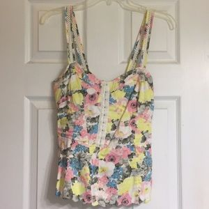 Free People sleeveless top size 10